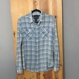 Soft Plaid Button Down